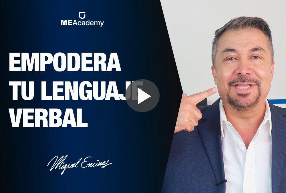 Empodera tu lenguaje verbal