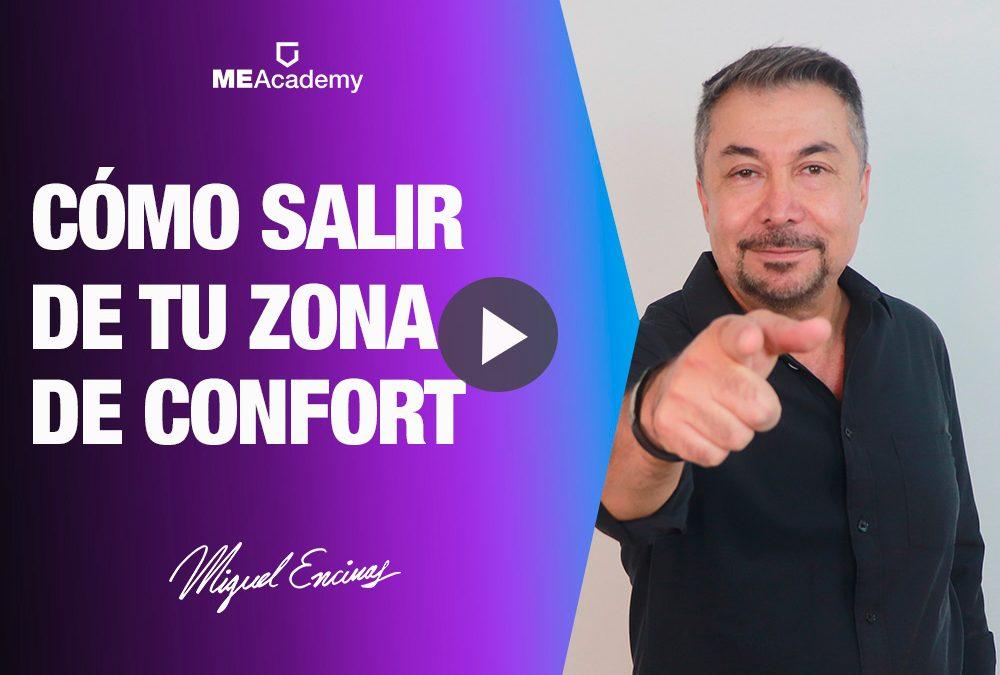 Cómo salir de tu zona de confort